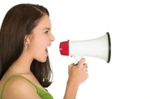 angry_woman_megaphone_400